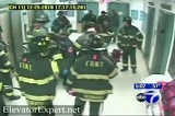 FDNY at SUNY Downstate Hospital preparing to extricate woman mangled by elevator